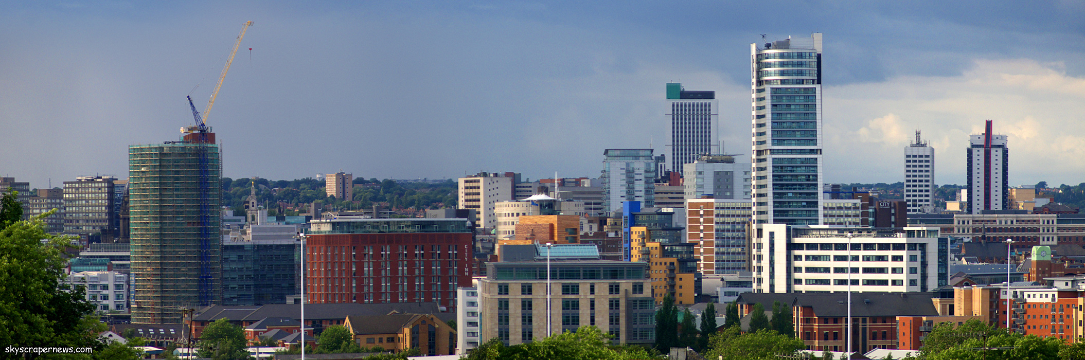 hypnotherapy leeds skyline image