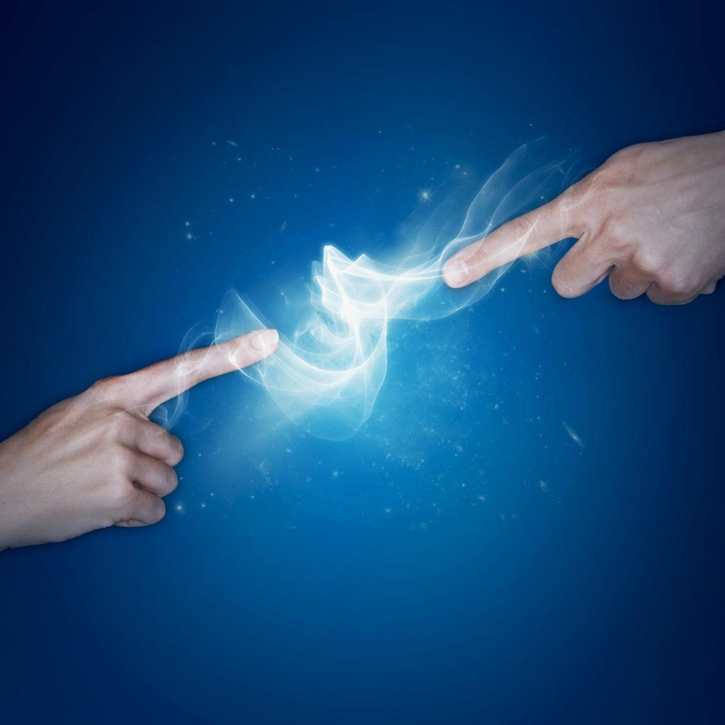 Transformation energy healing flow